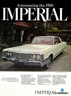 The 1968 Chrysler Imperial