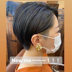 さきはInstagramを利用しています:「【にゅーーーみーーー!!!】    かっこよくなりたかった結果。     刈ってみた ゚+.ヾ(*´∀`*)ノ.+゚。…」 Pixie Buzz Cut, Hairstyle, Instagram, Fashion, Hair Job, Moda, Hair Style, Fashion Styles, Hairdos