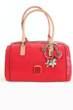 Sac Rouge Guess Femme Hwsg37 53080 - Cherry Frosted