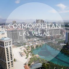 Planning a trip to Las Vegas and thinking about where to stay? The Cosmopolitan is a brand new stylish hotel with gorgeous views right on The Strip | http://www.rtwgirl.com/cosmopolitan-las-vegas/
