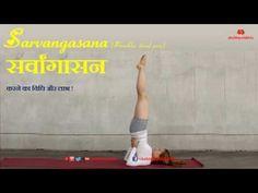 Sarvangasana (Shoulder stand pose) सर्वांगासन करने का विधि और लाभ || shu...