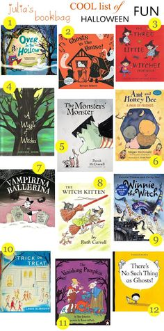 The Children's Bookshelf {Fall Picture Books} - No Twiddle Twaddle