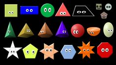 What Shape Is It? Collection - Shapes Song - The Kids' Picture Show (Fun...