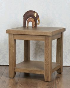 Chunky Solid Oak Dorset Country Bedside Lamp Side Table in Home, Furniture & DIY, Furniture, Tables   eBay