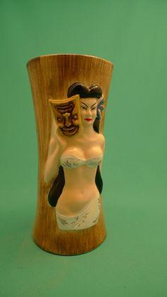 Hula Girl Tiki Mug..need this for the tiki bar..