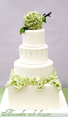 modern wedding cakes - Google Search