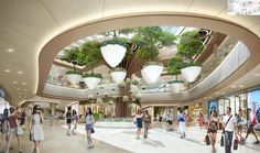 Commercial Interior Design, Commercial Interiors, Guiyang, Mall Design, Hangzhou, Department Store, Shopping Mall, Condo, Architecture