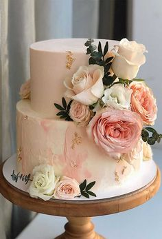 colorful wedding cakes 50 Most Beautiful Wedding Cakes, wedding cake ideas, amazing wedding cake Beautiful Wedding Cakes, Beautiful Cakes, Amazing Cakes, Elegant Wedding, Most Beautiful, Vegan Wedding Cake, Fall Wedding Cakes, Wedding Cake Prices, Wedding Cake Designs