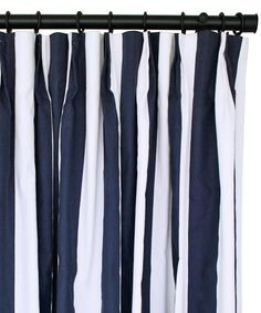 Purchased Navy Blue And White Striped Curtains Ikea Home Work Pinterest Boys