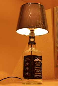 Bottle lamp Jack Daniels Lampara Botella Jack Daniels