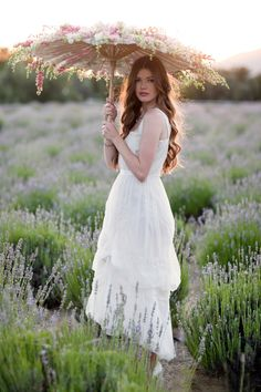 Would love to decorate a parasol and photograph a lovely lady in a field. #prettiness