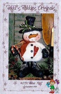 Artes da Lisandra: Boneco de neve