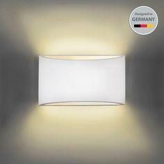Wandleuchte Wand-Lampe Strahler Spot Flur-Licht Weiss Wohnzimmer Beleuchtung LED | Möbel & Wohnen, Beleuchtung, Wandleuchten | eBay!