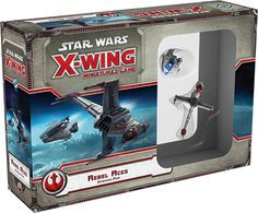 Join the Rebellion and fight for freedom across the galaxy with the Rebel Aces Expansion Pack for Star Wars: X-Wing Miniatures Game! Featuring two starfighter miniatures with bold, alternative paint schemes, Rebel Aces allows you to represent the heroic pilots who first flew A-wings and B-wings as experimental prototypes. You'll also find four highly skilled, unique new pilots, thirteen upgrade ca