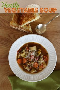 Extra Hearty Vegetable Soup