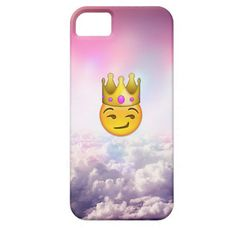 Shop Cloudy Smirk Crown Emoji iPhone Case created by IRWSXX. Personalize it with photos & text or purchase as is! Emoji Phone Cases, Cool Iphone Cases, Cool Cases, Cute Phone Cases, Iphone Case Covers, Just In Case, Just For You, Emoji Love, Accessoires Iphone