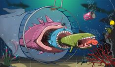 Create an Underwater, Vector-Style Illustration in Photoshop - Tuts+ Design & Illustration Tutorial