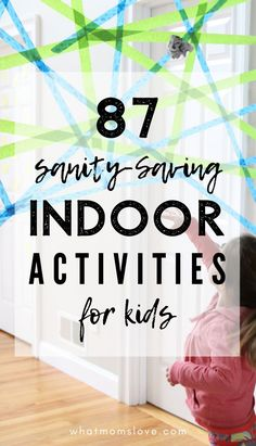 Best active indoor activities for children Fun Gross Motor Games and creative ideas for school cancellations, winter (snow days! Rainy Day Activities For Kids, Activities For Adults, Indoor Activities For Kids, Indoor Games, Preschool Activities, Games For Kids, Kids Fun, Fun Games, Energy Kids