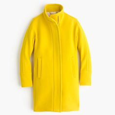 Shop J.Crew for the Tall stadium-cloth cocoon coat for Women. Find the best selection of Women Outerwear available in-stores and online. Coats For Women, Clothes For Women, Yellow Coat, J Crew Style, Outerwear Women, Cashmere Sweaters, Pretty Outfits, How To Wear, Cocoon Coats