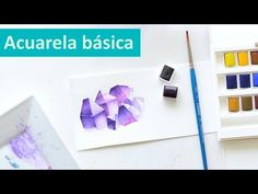 -Ejercicios de Acuarela para Principiantes - || ♦ PART 1 ♦ [ TRANSPARENCIA ] - Isabelle Art - - YouTube Watercolor Drawing, Watercolor Paintings, Art Projects, Projects To Try, Bullet Journal Notes, Watercolour Tutorials, Vanitas, Learn To Paint, Just Do It