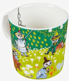 Moomin Mug With Glasses Tove Jansson 100 Years Anniversary Celebration