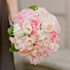 #Pink #Bridesmaids #Bouquet ♥ For an easy-to-follow 'Wedding Planning Guide' ... https://itunes.apple.com/us/app/the-gold-wedding-planner/id498112599?ls=1=8 ♥ For more wedding inspiration ... http://pinterest.com/groomsandbrides/boards/ & magical wedding ideas.