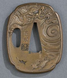Two bronze Tsuba - by Quinn's Auction Galleries