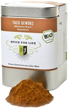 Organic Taco Spices - Mexican Style