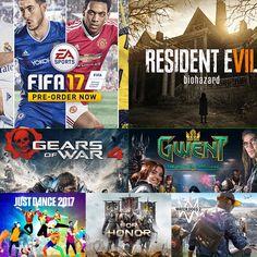 Alguns dos principais games que estarão na BGS 2016 (Foto: Reprodução/Felipe…