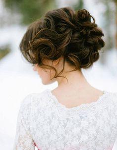 """Résultat de recherche d'images pour """"coiffure mariage chignon bas"""""""