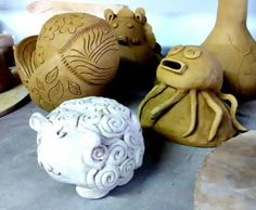 Uph pottery 1. Project 1: coin/money bank. May 2015.