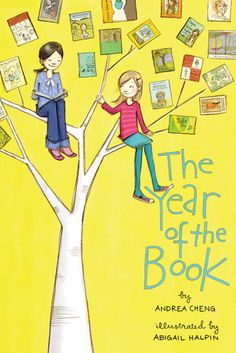 The Year of the Book by Andrea Cheng reviewed by Katie Fitzgerald @ storytimesecrets.blogspot.com