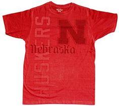 Brand new Nebraska Huskers sublimation tee!
