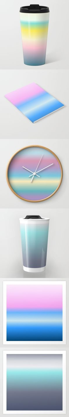 New collection of graphic design works, inspired by nature landscapes. In society6 art shop.  by Mariana Lisina