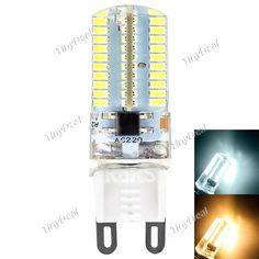 YWXLight Dimmable G9 110V / 220V 3W 250LM 360° SMD 3014 LED Corn Bulb - Warm White Natural White HLT-515848