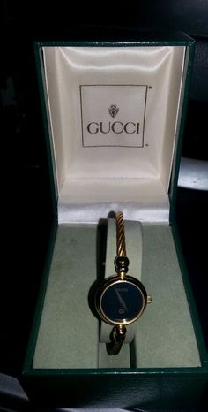 100% Authentic Gucci Gold Toned Ladies Watch #Gucci #Dress