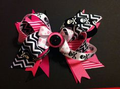 Chemical Sugar sweet pink and crossbones by Fabowlush on Etsy, $12.00