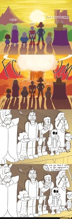 undertale The reason the world exploded was Donald Trump (I am going to get a lot of hate for this xD)