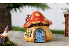 Fairy Garden homes have been a favorite of mine for a long time.  It brings me so much joy to see such little, tiny pieces of art!  It will add personality and imagination to your garden or outdoor space. ...