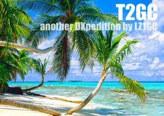 T2GC Activation DX sur les îles Tuvalu