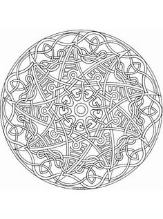 This Expert Mandala Coloring Sheet Is A Fun Design And Super Challenging To Color Page Can Be Decorated Online With The Find Pin