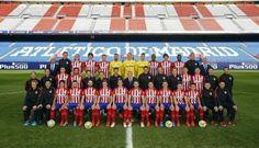 Foto oficial de la plantilla del Atlético de Madrid 2015/16 - La Jugada Financiera - La Jugada Financiera
