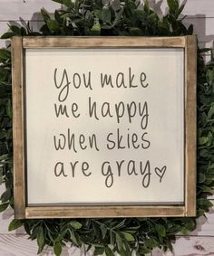 signs with quotes Farmhouse Wall Decor, Farmhouse Signs, Urban Farmhouse, Framed Quotes, Sign Quotes, Distressed Signs, Good Morning Texts, Different Holidays, You Make Me Happy
