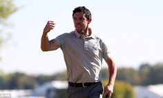 He's up for this and he's on fire: McIlroy is taking it to the Americans  Read more: http://www.dailymail.co.uk/sport/golf/article-3816458/Ryder-Cup-2016-LIVE-standings-team-scores-golf-results-Team-USA-vs-Team-Europe.html#ixzz4LwbTJfz8  Follow us: @MailOnline on Twitter | DailyMail on Facebook