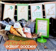 EASTER snack ideas @eyecandycreate #easter #eastersnacks