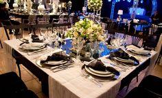 Decoração em preto e branco - Castelli Hall Goiânia - Blog Dani Vargas | Realize-se - O site do seu casamento