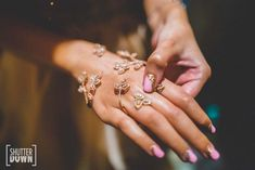 Rose gold with marquis stones Engagement Hand, Engagement Jewelry, Palm Cuff, Full Hand Mehndi, Pinterest Jewelry, Wedding Hands, Hand Accessories, Bridal Mehndi Designs, Lace Gloves