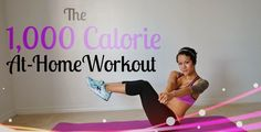 Splurged on Thanksgiving dinner?No worries! Here is a workout to get your body sweating, heart pumping, and your adrenaline rushing! The 1,000 Calorie At-Home Workout *Warning: It won't be easy. If you physically are not conditioned to complete this workout in one sitting, then please do not try. Do each move fully and vigorously, to Read more.