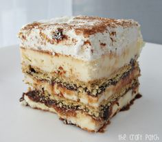 The Craft Patch: S'mores Ice Cream Cake