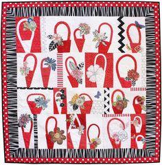 Jean Impey's quilt called Gwen's Baskets!